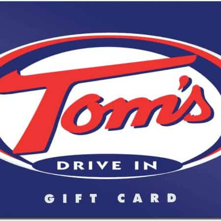 Tom's Drive In Gift Card